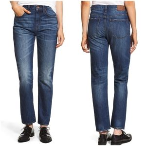 Madewell Cropped Straight Leg Jeans 26